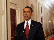 Obama discursou no final da noite nos Estados Unidos (início da madrugada, horário de Brasília)-Chris Kleponis/AFP