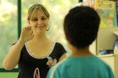 Daiele Althaus acredita que a convivência com crianças em escola regular traz benefícios-Felipe Carneiro/Agencia RBS