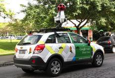 Carro do Google capturou imagens no Centro de Florianópolis na manhã desta segunda-feira-Arquivo pessoal/Divulgação