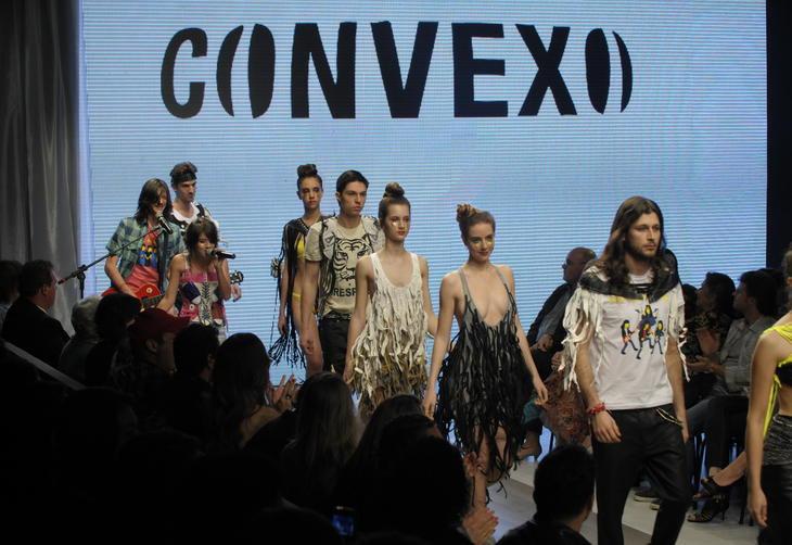 Convexo — Um desfile jovem, divertido e com espírito rock