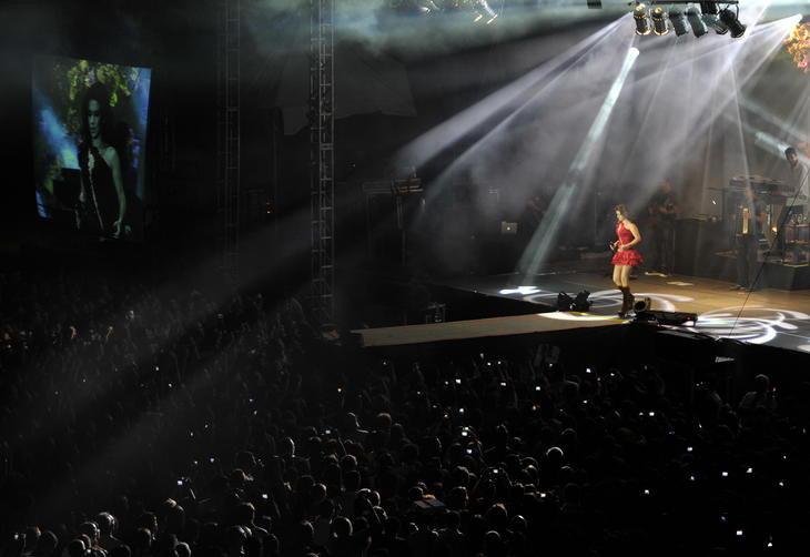 O show ocorreu na madrugada de sábado para domingo no Estádio Presidente Vargas:imagem 6