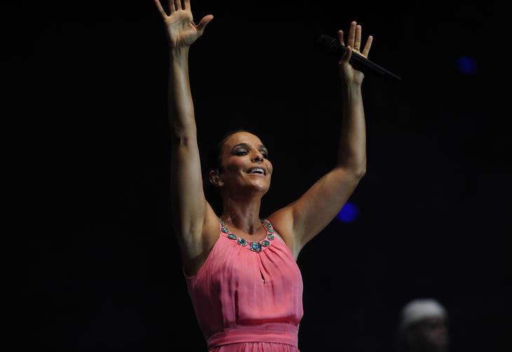 Show da Ivete Sangalo no show do primeiro dia de Planeta Atlântida de Santa Catarina:imagem 4
