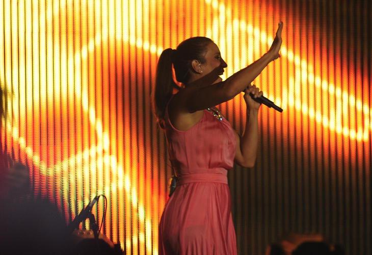 Show da Ivete Sangalo no show do primeiro dia de Planeta Atlântida de Santa Catarina:imagem 2