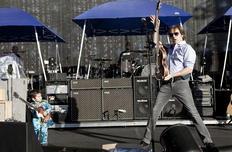 """Em 2009, Paul lançou na Grã Bretanha, junto com as filhas Stella e Mary, a campanha """"Meat Free Monday""""-MJ Kim/AP / Communications/MJ Kim"""