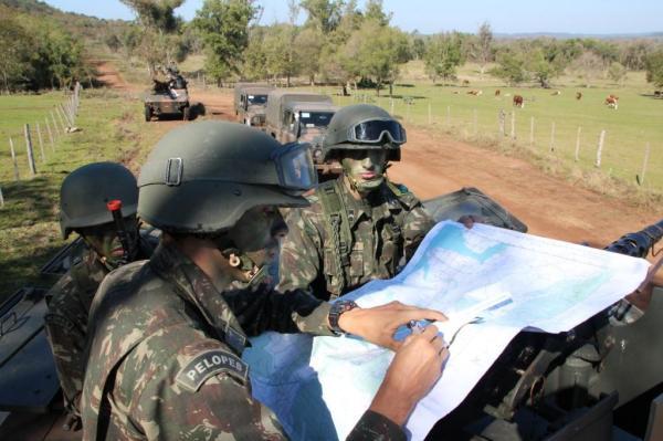 - Batalha fictícia entre argentinos e brasileiros chega ao ápice
