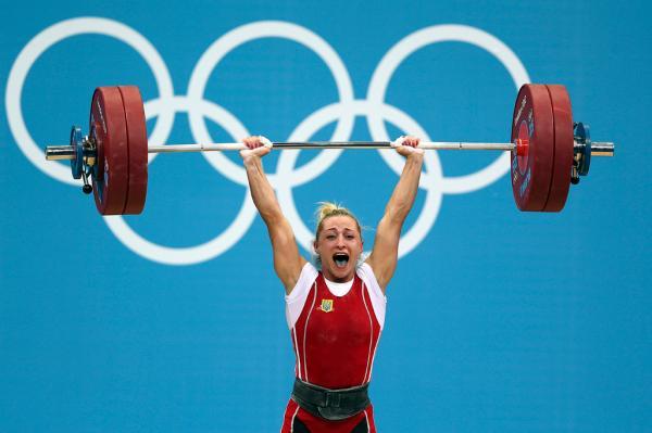 Yuliya Kalina  da Ucr  226 nia  competiu na categoria at  233  58kg Jed    Iulia Paratova