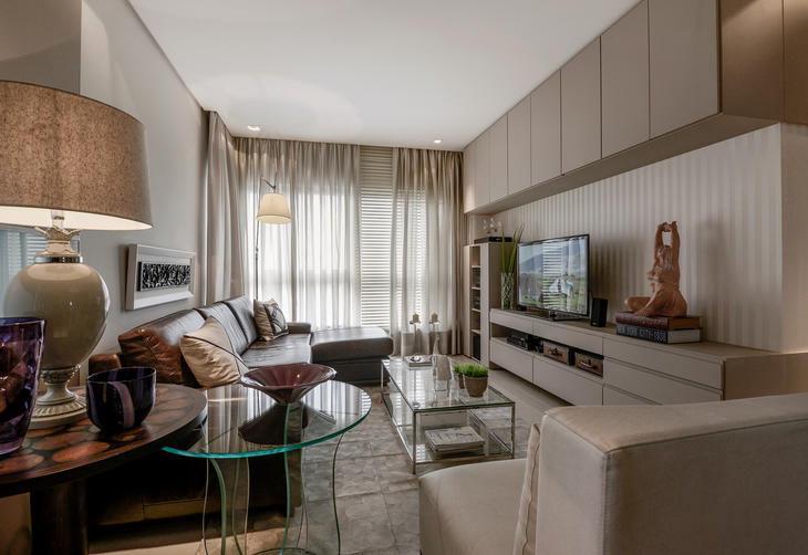 decoracao de sala jovem: projeto de apartamento para jovem casal – Foto 1 – Galeria de Fotos
