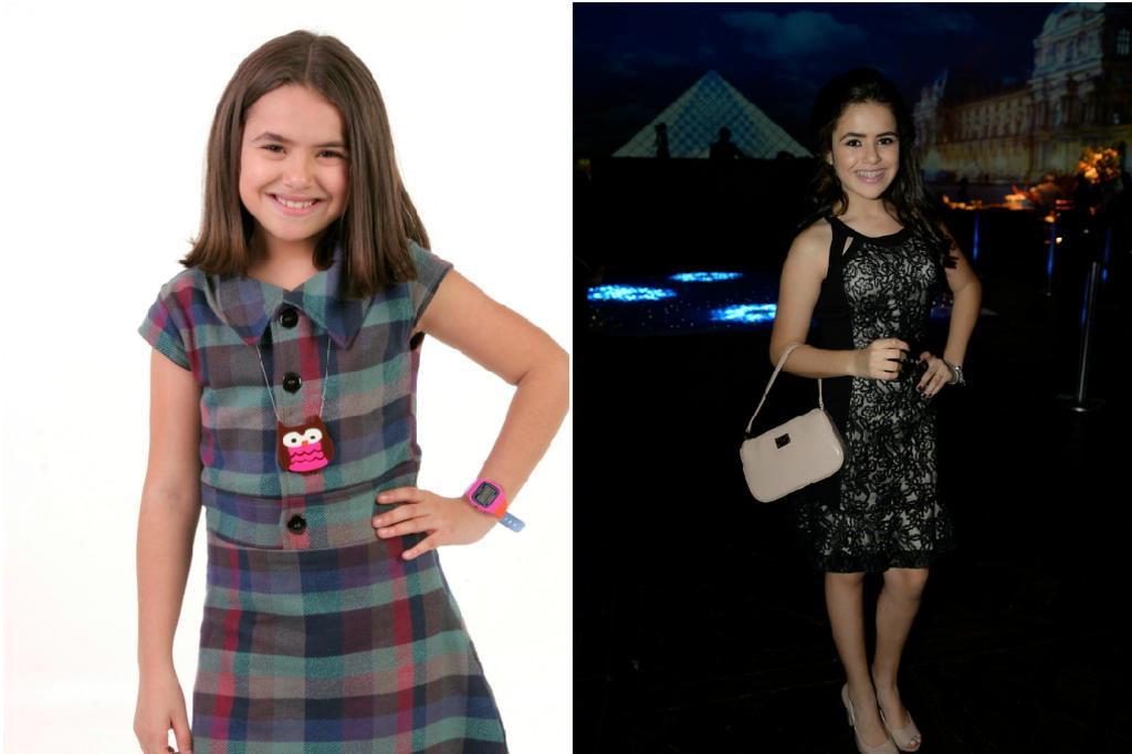 Top Aos 12 anos, Maisa curte festa de amigos de salto alto e maquiagem  FR57