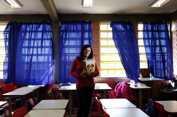 Na sala de aula onde tudo começou