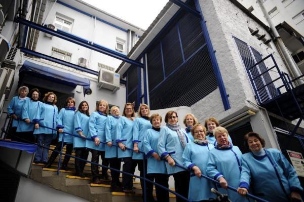26 senhoras compõem o grupo de voluntárias.