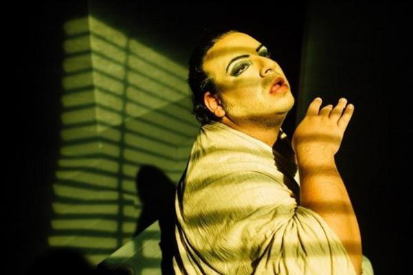 Luis Lobianco na peça