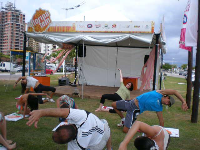 Floripa Tem: Pilates para relaxar