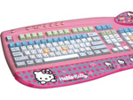 Teclado da adorada Hello Kitty