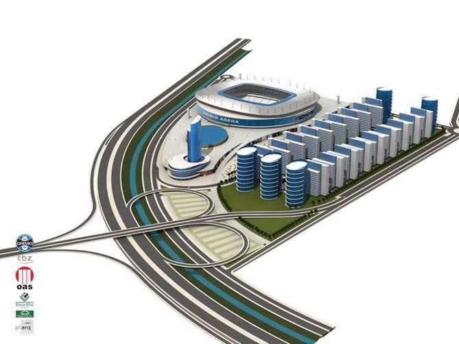 Beira Rio Stadium X Arena Stadium / World Cup 2014