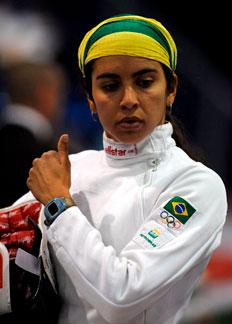 Larissa Lellys não conseguiu se classificar para a decisão de medalha-Imre Foeldi, EFE