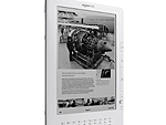 O display do Kindle segue sendo preto e branco, com vários tons de cinza