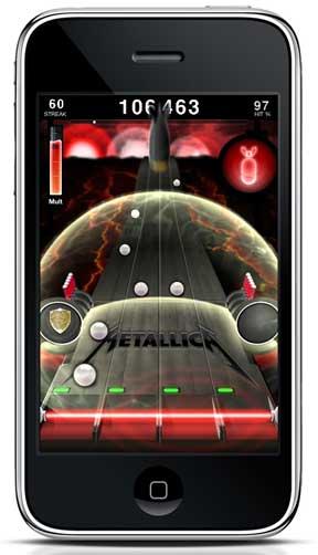 7218402 Metallica lança jogo com suas músicas para iPhone