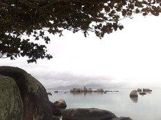 Dia amanheceu  nublado em Florianópolis-Diego Redel
