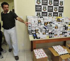 Três homens que estavam na residência foram presos em flagrantes por receptação-Rogerio da Silva