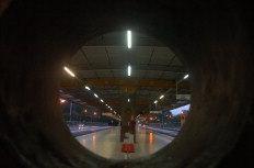 Terminais e pontos de ônibus amanheceram vazios - Gilmar de Souza