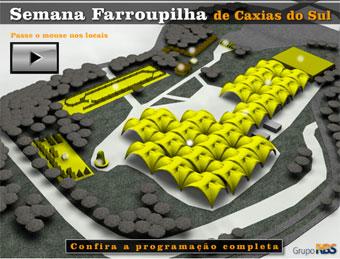 Programação 2009 da Semana Farroupilha de Caxias do Sul