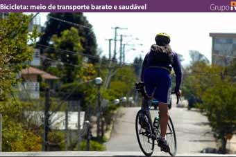 Bicicleta: meio de transporte barato e saudável