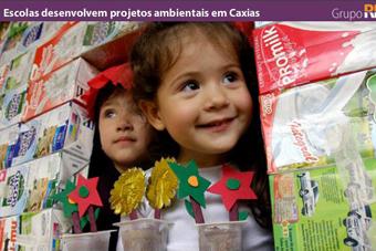 Escolas desenvolvem projetos ambientais em Caxias