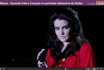 Maysa - Quando Fala o Coração é a próxima minissérie da Globo