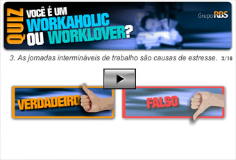 Quiz - Voc  um workaholic ou worklover?