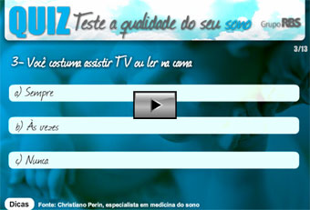 Quiz - Teste a qualidade do seu sono