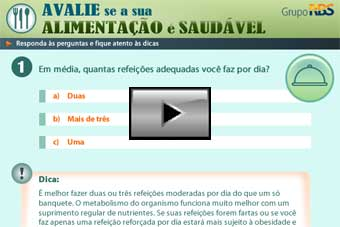 Avalie se a sua alimentao  saudvel