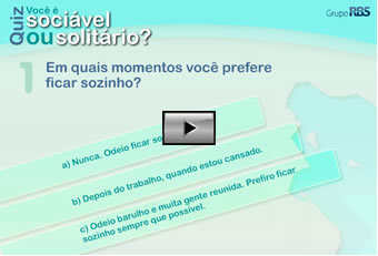 Quiz: Voc  socivel ou solitrio?