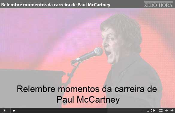 Relembre momentos da carreira de Paul McCartney
