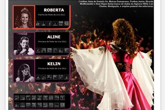 Soberanas da Festa da Uva 2012 enviam mensagem às candidatas ao título de 2014