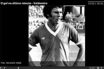 Valdomiro relembra final do Gauchão de 1978