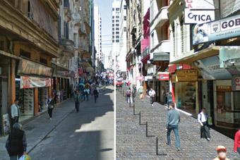 Projeto prevê mais espaço para pedestres no Centro Histórico da Capital